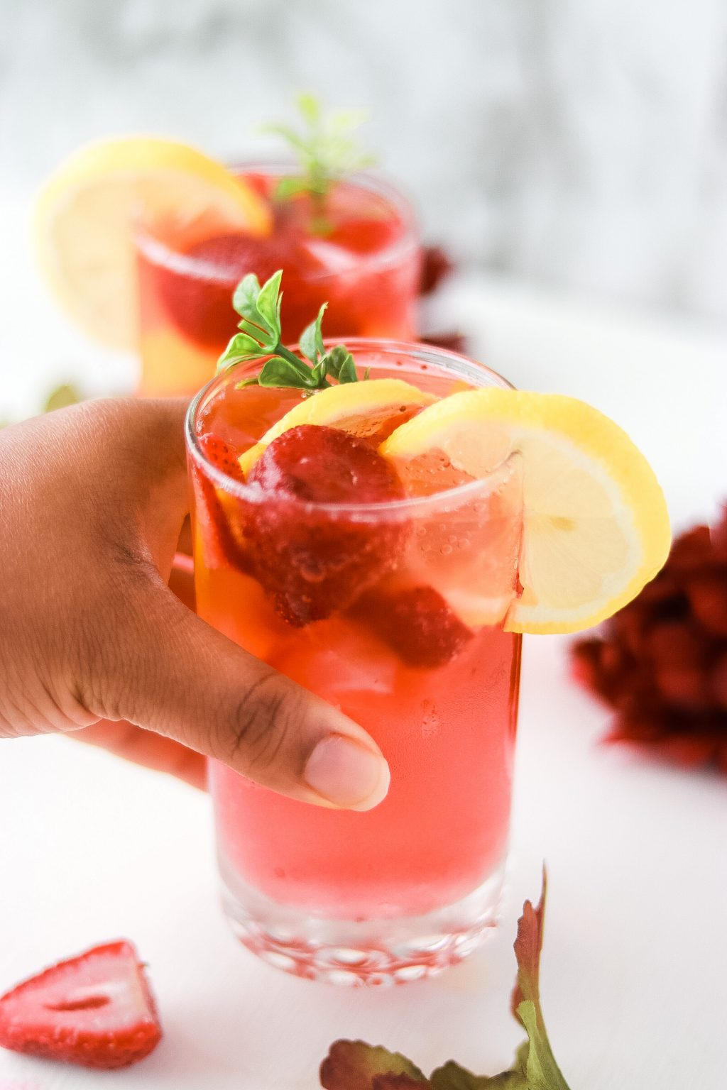 Strawberry sprite mocktail recipe 5744 1024x1536 - Strawberry Sprite Mocktail | Perfect Drink For The Summertime