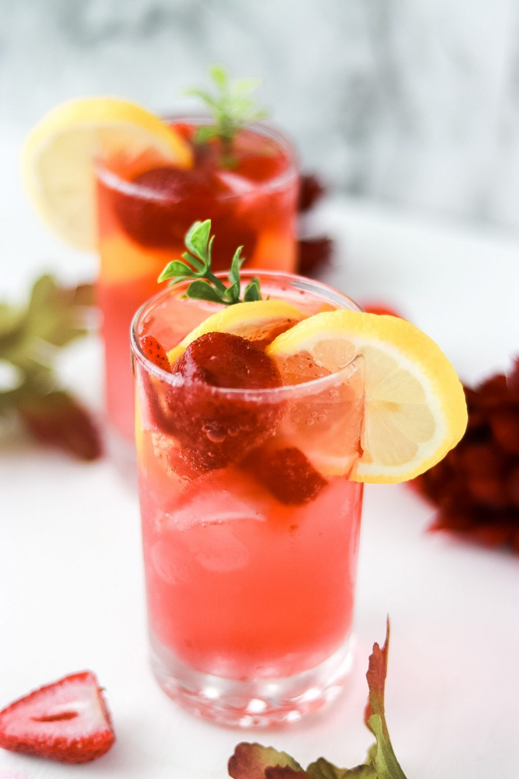 Strawberry sprite mocktail recipe 5746 1024x1536 - Strawberry Sprite Mocktail | Perfect Drink For The Summertime