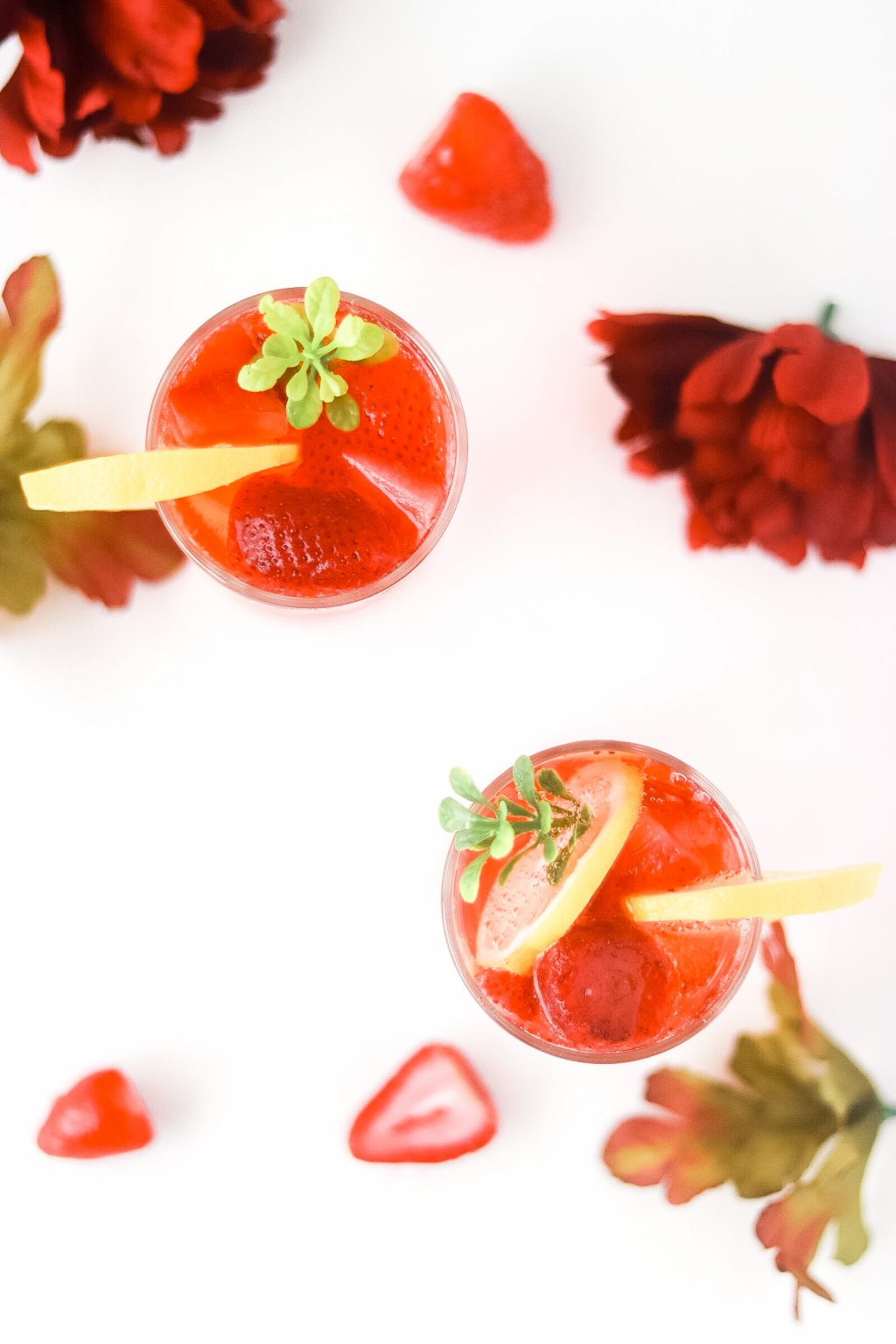 Strawberry sprite mocktail recipe 5750 1024x1536 - Strawberry Sprite Mocktail | Perfect Drink For The Summertime