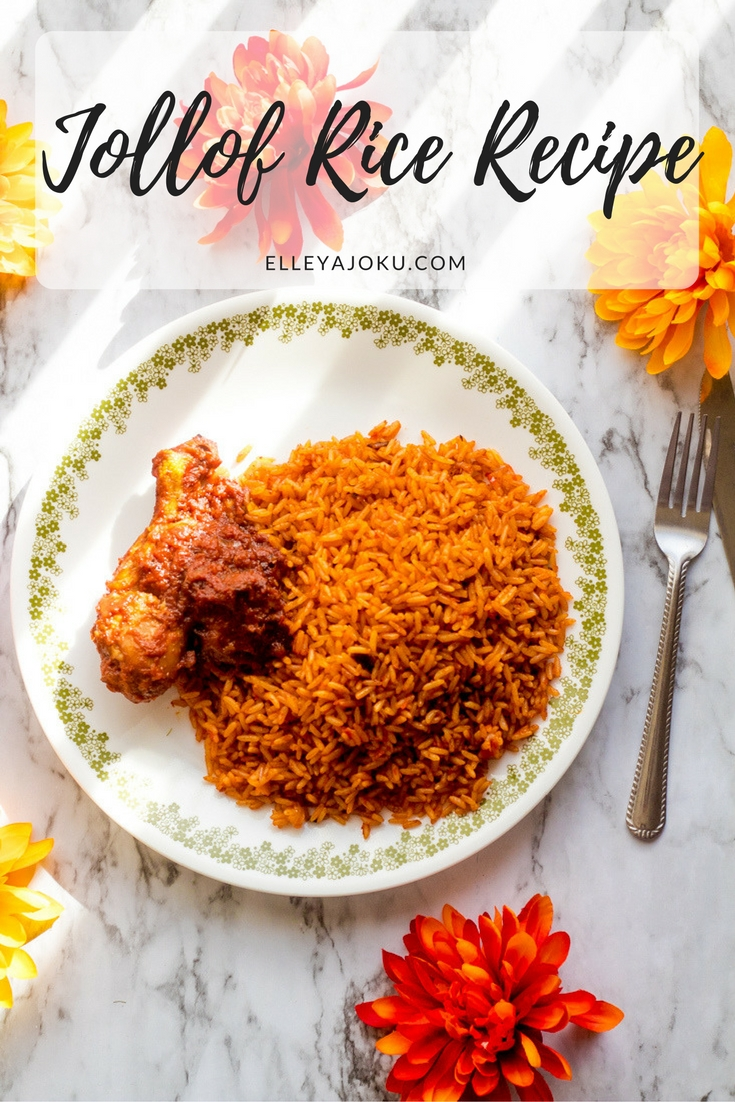 Jollof Rice Recipe - The best Nigerian party Jollof rice recipe you can't resist