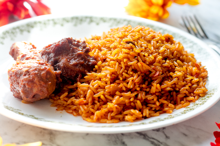 jollof rice cooking - The best Nigerian party Jollof rice recipe you can't resist