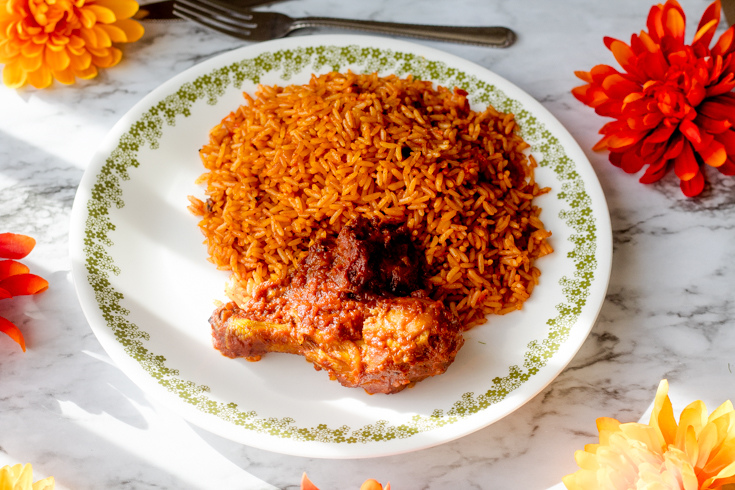 tasty jollof rice  - The best Nigerian party Jollof rice recipe you can't resist