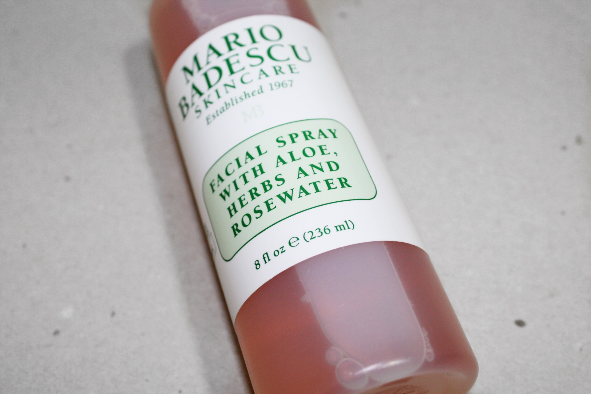 Why I Gave Up On The Mario Badescu Rosewater Spray