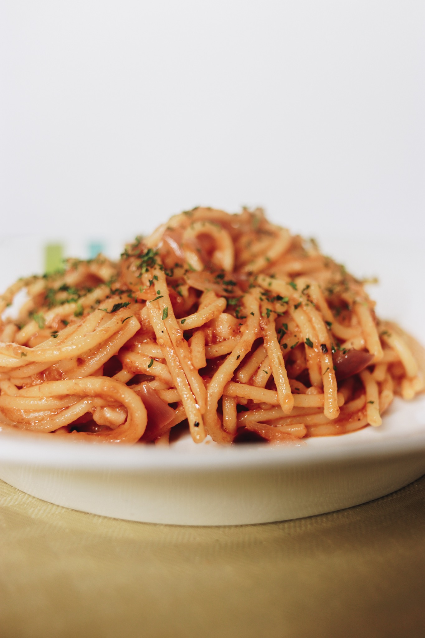 Spaghetti recipe with roast beef harsh