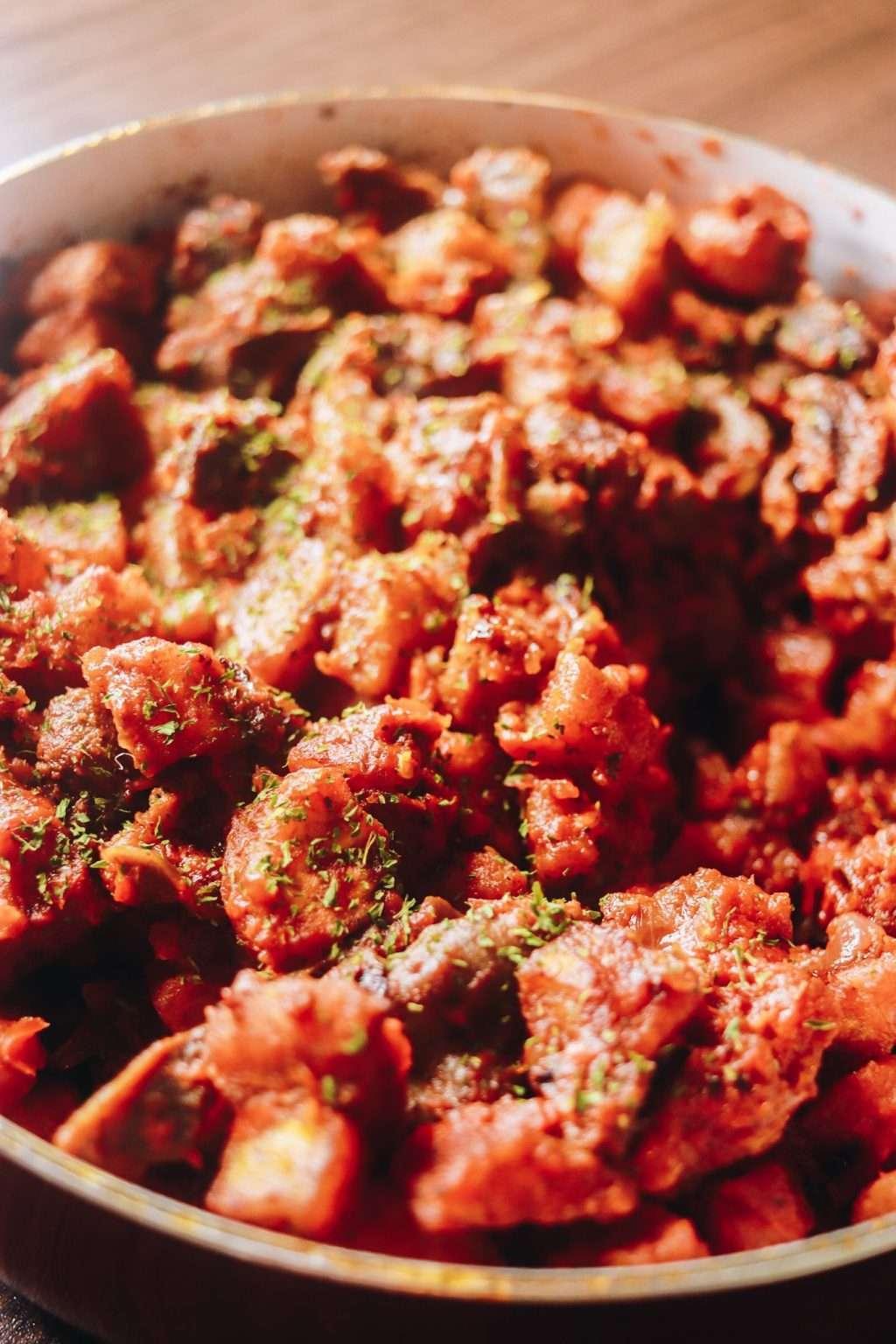 gizdodo recipe for meal 1024x1536 - Gizdodo Recipe: Gizzard and Plantain With Stew Sauce