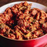 gizdodo recipe gizzard and plantain 150x150 - Gizdodo Recipe: Gizzard and Plantain With Stew Sauce