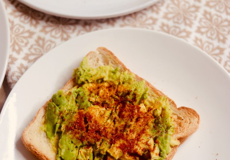 Avocado toast bread