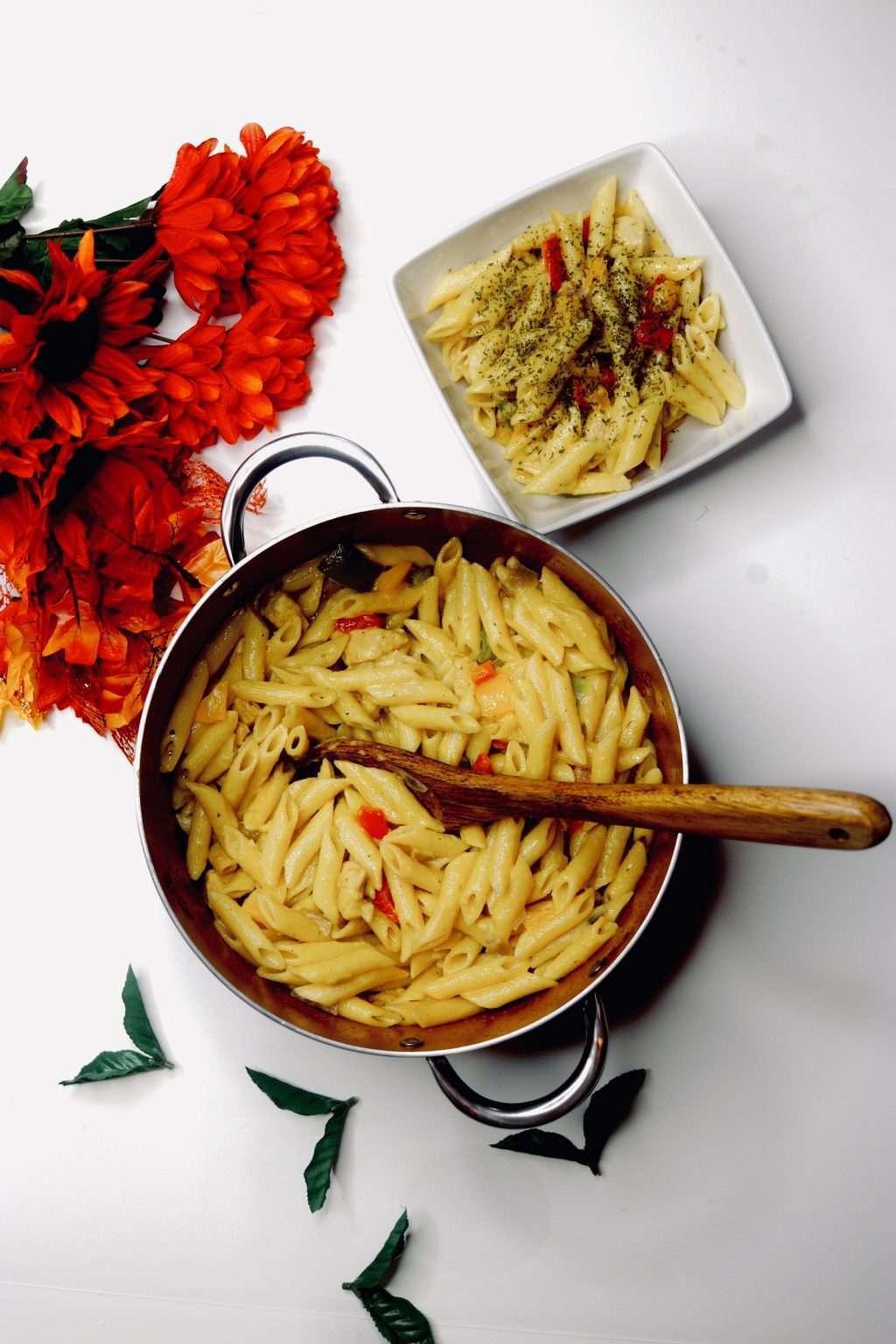 pasta chicken fajita recipe meal 1 1024x1536 - The Best Chicken Fajita Pasta Recipe For The Holiday Season