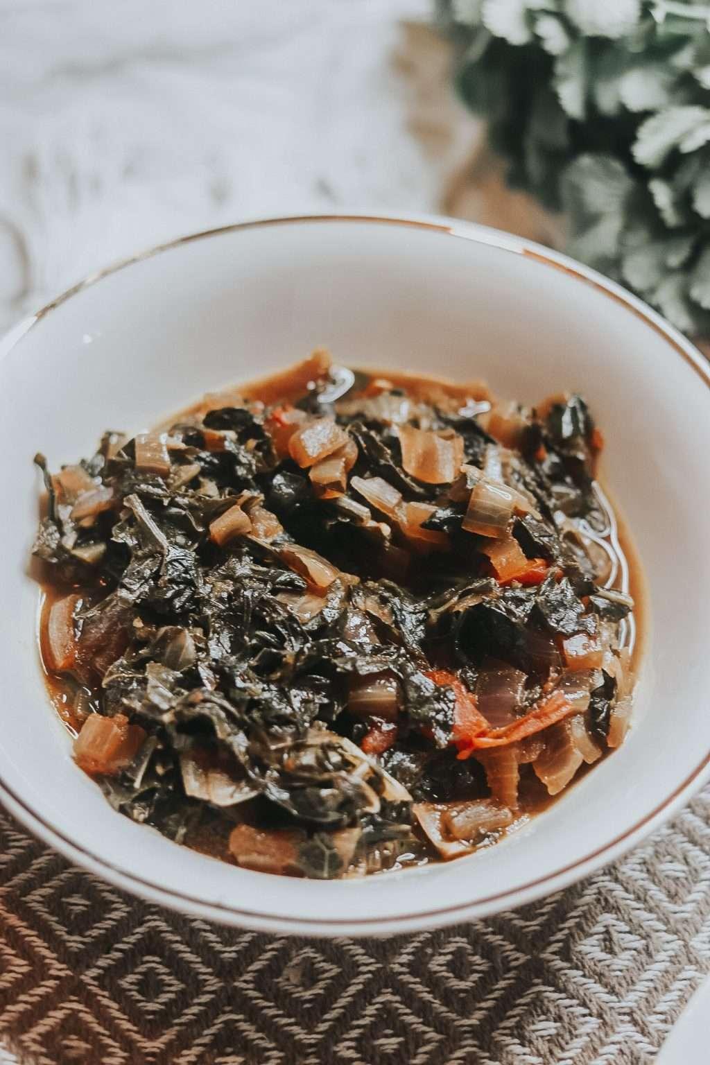 Vegan collard greens recipe 2940 1024x1536 - Vegan Collard Greens Recipe + Why I'm Going Vegan