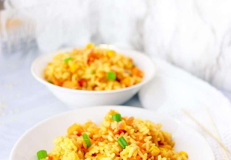 The Best Vegan Rice recipe