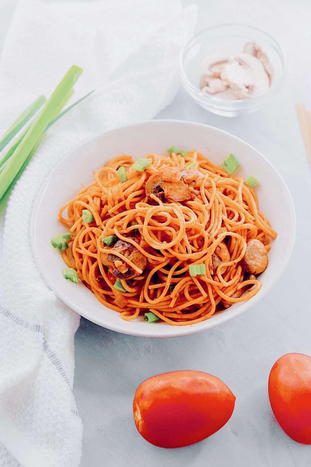 Vegan Spaghetti mushrooms recipe  02 02 2020 18 32 54 1024x1536 - HOME