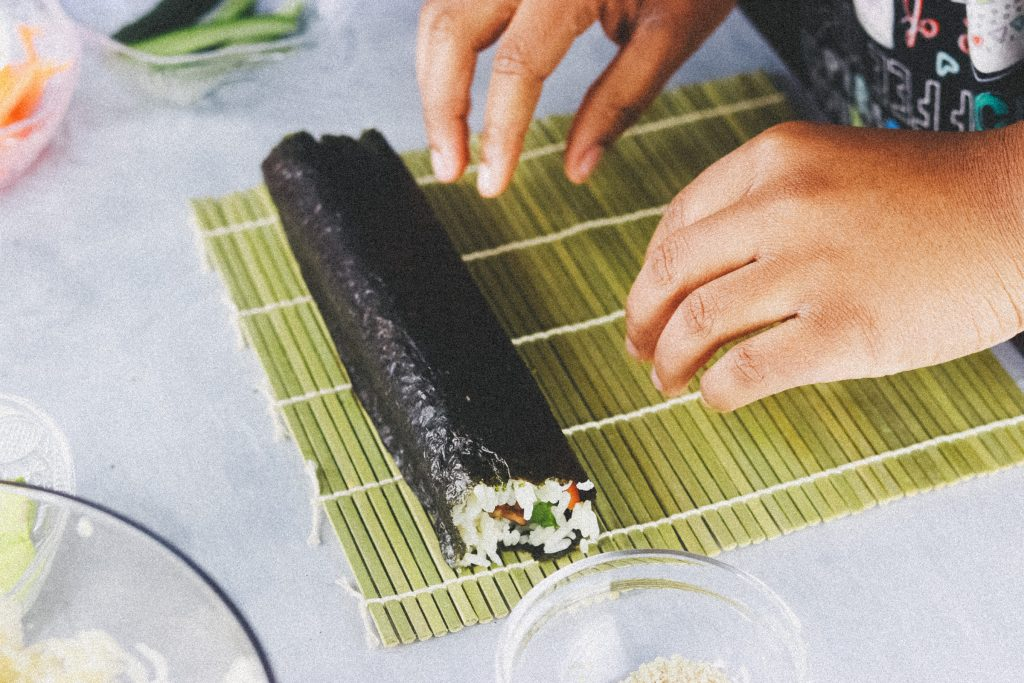 Vegan Tofu Sushi Recipe  3996 1024x683 - Vegan Sushi Recipe - Super Quick, Easy And Delicious