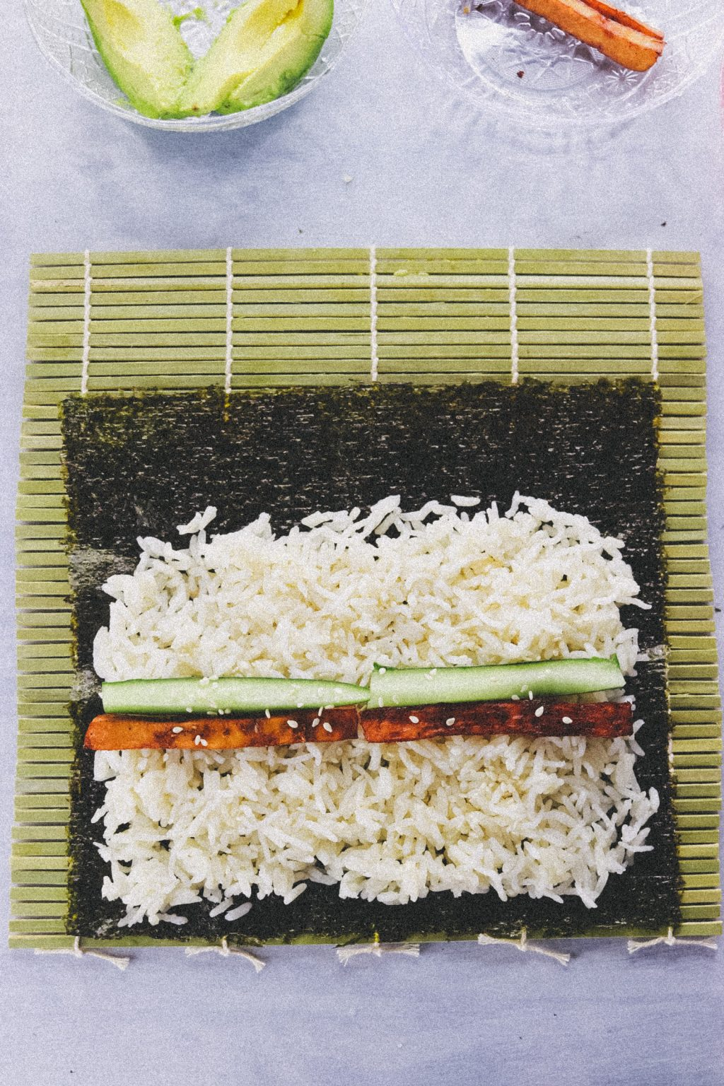 Vegan Tofu Sushi Recipe  4001 1024x1536 - Vegan Sushi Recipe - Super Quick, Easy And Delicious