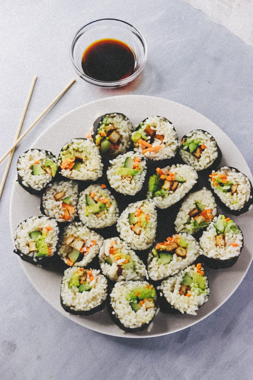 Vegan Tofu Sushi Recipe  4012 1024x1536 - Vegan Sushi Recipe - Super Quick, Easy And Delicious