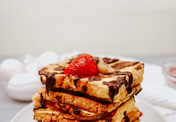 Bread and egg toast recipe