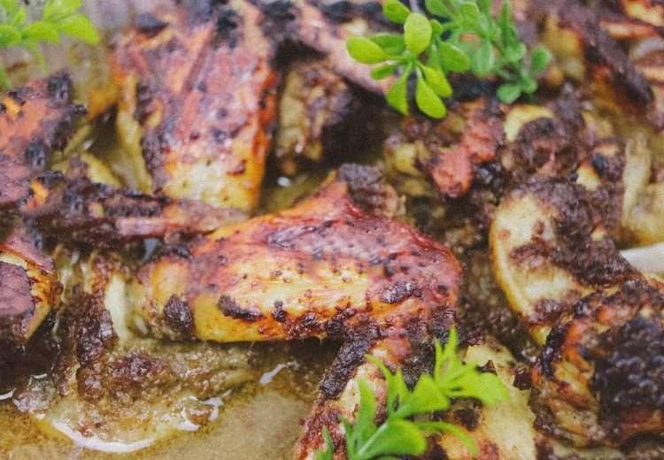 jamaican jerk wings 750x520 - Oven Roasted Jamaican Jerk Chicken Wings Recipe | Easy & Delicious