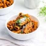 Vegan Bolognese Recipe 6059 150x150 - Vegan Bolognese Recipe | Meatless Rigatoni Plant-Based Dish