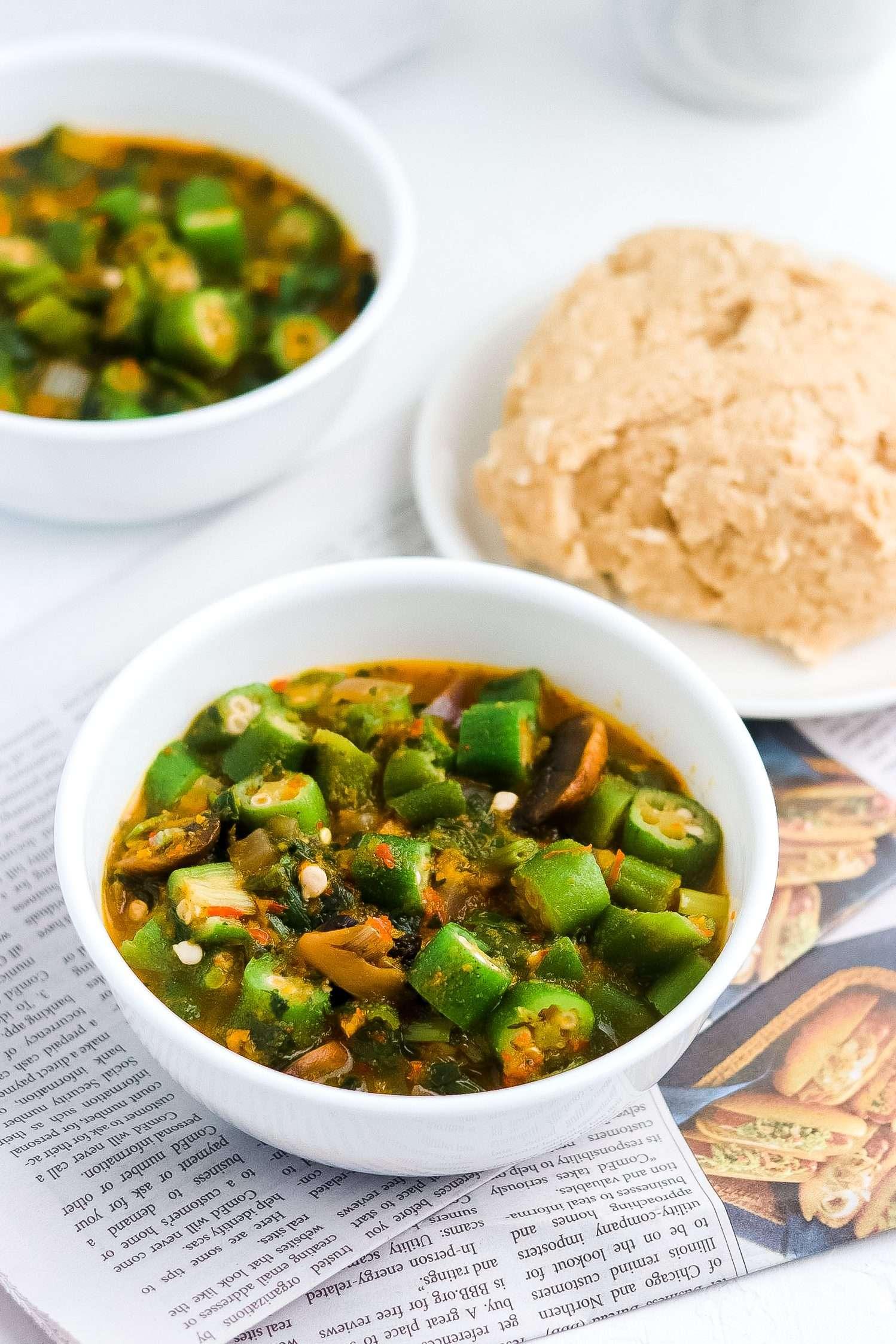 Vegan Okra Soup Recipe